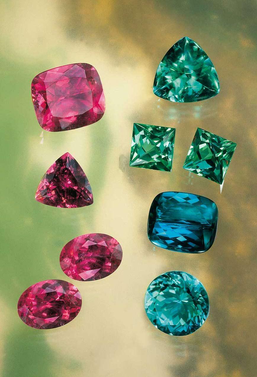 eight elements farbedelsteine